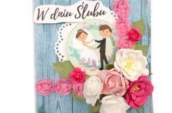 kartka ślubna #599