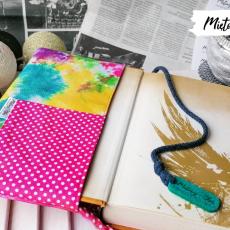 Etui na książkę i piórnik ~ kolorowe plamy