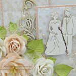 Z różami na ślub