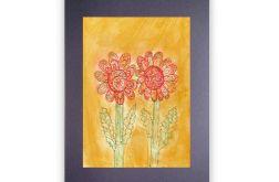 Kwiaty 8 - rysunek dekoracyjny