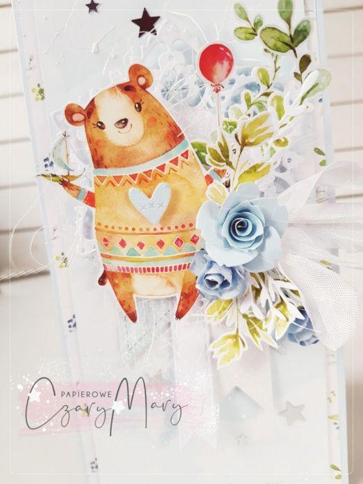Kartka dla dziecka #201 - kartka z okazji narodzin