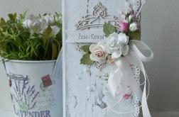 Kartka ślubna w pudełku DL -v.11