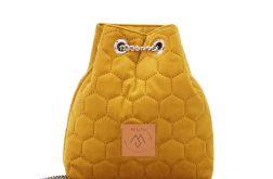 Mały worek Mili Glam Bag 2 - żółty