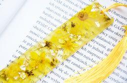 Zakładka do książki - rainbow żółta