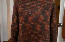 sweter w kolorach jesieni 100%wełna