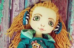 Artystyczna lalka z ręcznie malowaną buzią