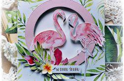 ślubne flamingi