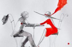 Praca DŁOŃ W DŁONI artystki A. Laube