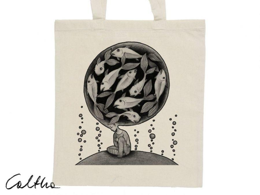 Ryby - torba z nadrukiem