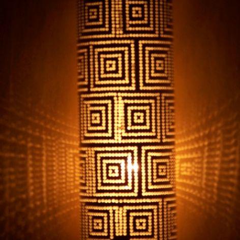 lampa stołowa - kwadraty