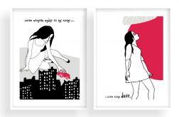 czasem wszystko... dwie ilustracje