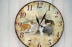 Zegar Ścienny Pieski Psy Prezent
