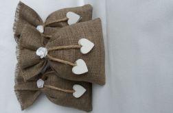 romantyczne woreczki z serduszkiem