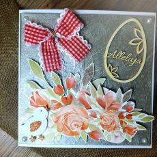 Elegancka kartka Wielkanocna #1