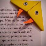 Zakładki do książek origami wąż, żmija i żaba - Żmija