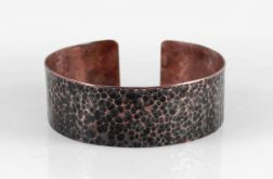 Lawa - miedziana bransoletka 210605-04