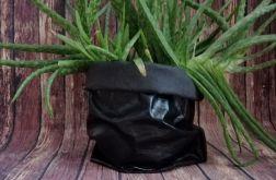 Worek dekoracyjny ,kosz, rozmiar S.czarny.