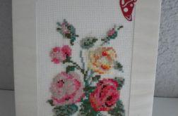 Kartka - Bukiet Róż