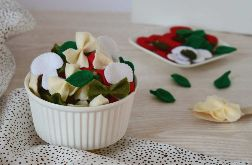 Makaron kokardki / Jedzenie z filcu