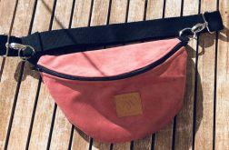 Nerka Mili Belt Bag L - różowa