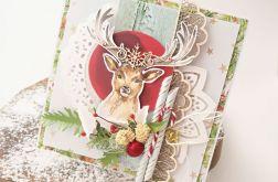 Jelonka - kartka świąteczna 1