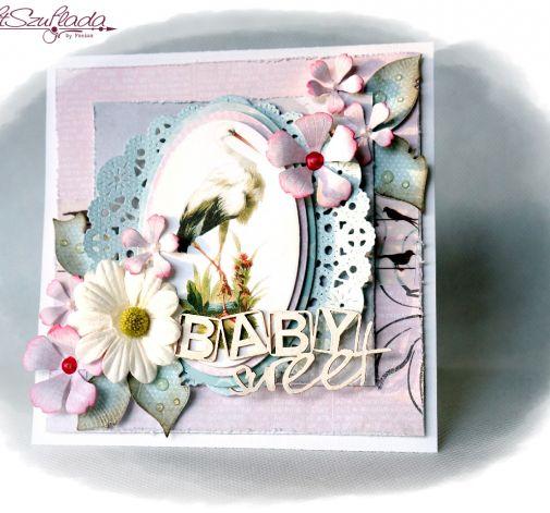 Kartka z okazji narodzin dziecka