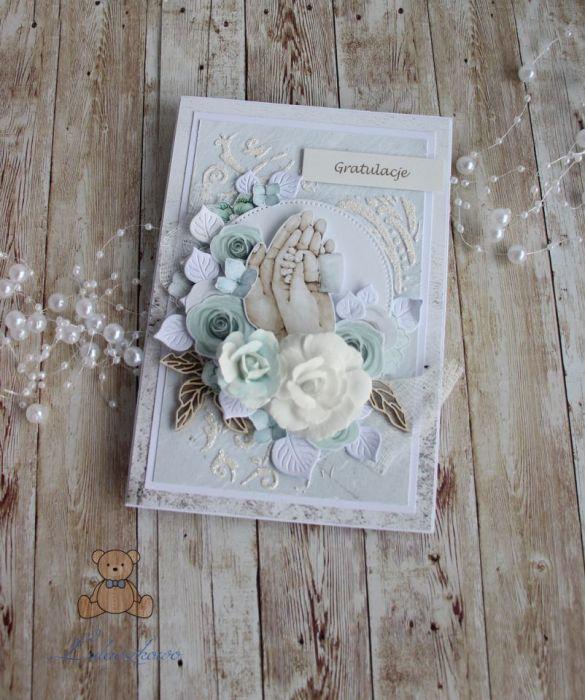 Kartka na narodziny chrzest Tiny Love1 GOTOWA