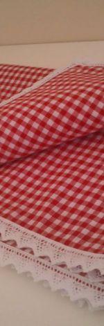 Lambrekin krateczka czerwona