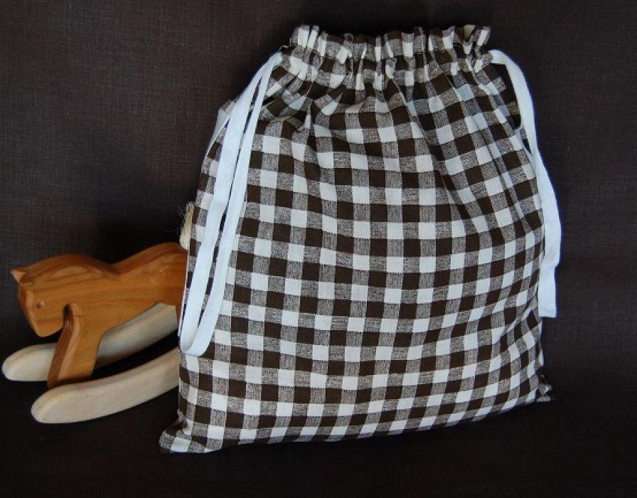 Krówka - worek na kapcie/strój