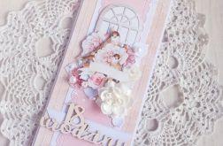 Kartka urodzinowa DL Dear Diary 1 GOTOWA