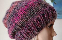 Zimowa malina czapka