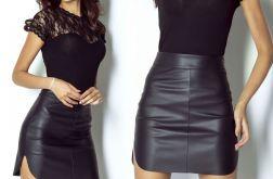 Sp54-Spódnica Camilla czarny 38