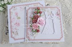 Kartka ślubna w pudełku 461