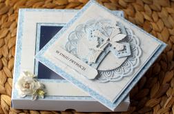 Kartka w pudełku z okienkiem Prymicje