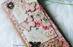 Kartka uniwersalna z motylkami