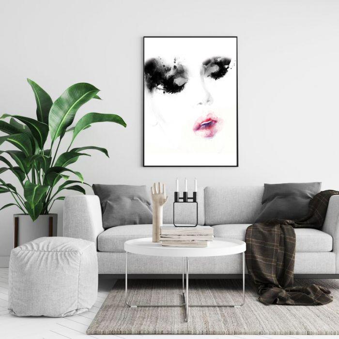 Plakat Nowoczesny Kobieta 01