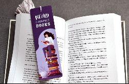 Zakładka READ MORE BOOKS z chwostem