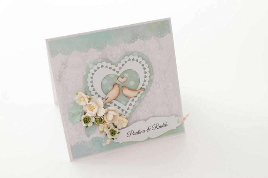 Kartka na ślub (w pudełku)