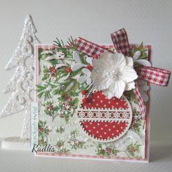 """Kartka świąteczna """"Magicznych Świąt"""" v.3"""