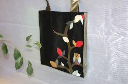torba worek Black Bag Sowa - na Fundację