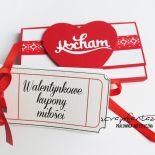 Kupony Walentynkowe - indywidualny projekt