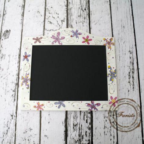 Tablica magnetyczna na przypominajki kwiaty