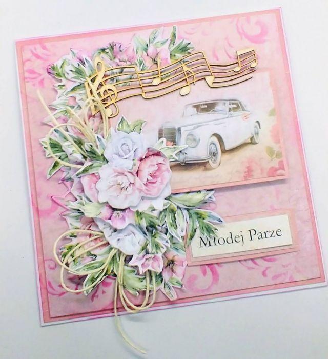 Kartka ślubna -