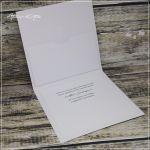 Kartka z Młodą Parą - kartka slubna z kieszonką na pieniądze