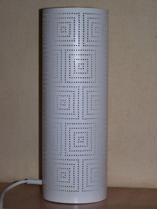 lampa stołowa - kwadraty -