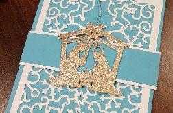 Kartka bożonarodzeniowa z zawieszką KH2012003
