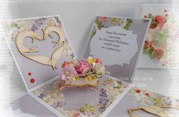 Ślubny box z liskami