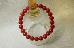23.Bransoletka ze szklanych koralików 8mm