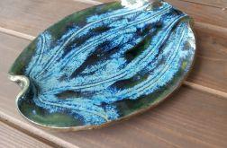 Patera ceramiczna liść