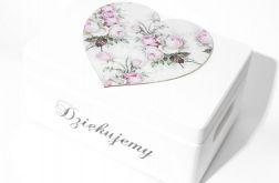 Ślubne pudełko na koperty Duże serce